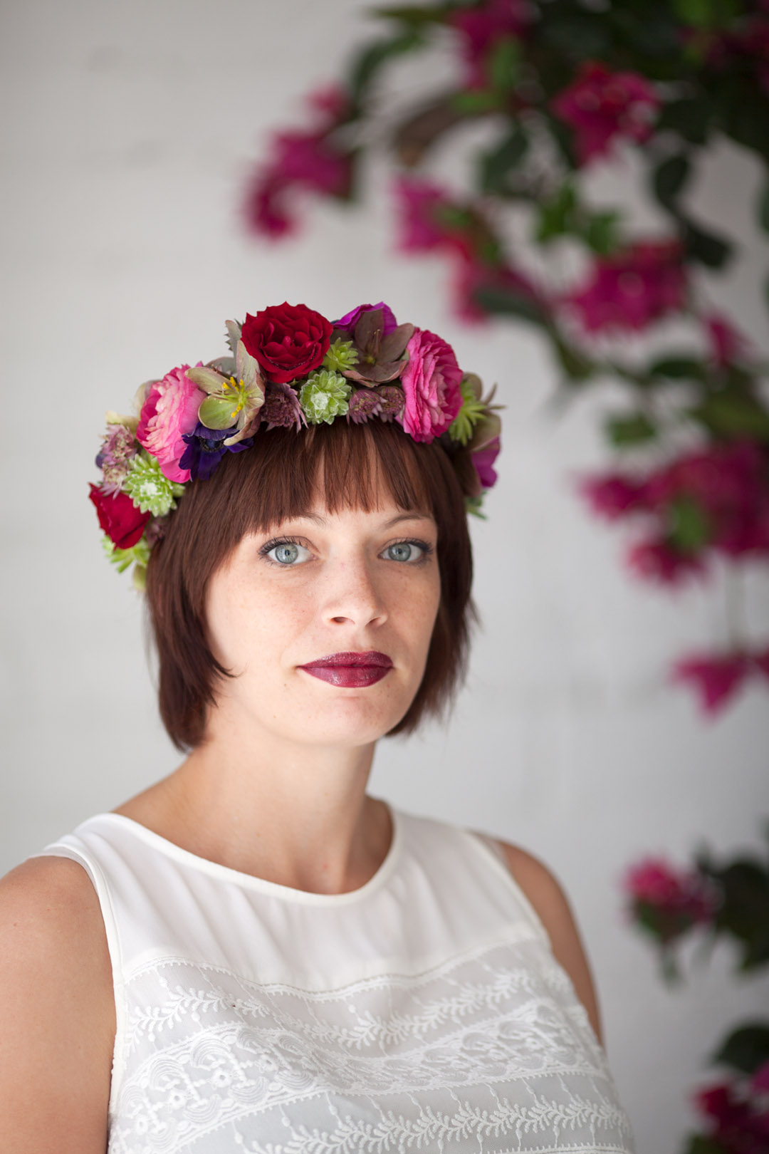 floral crown by Art in Bloem