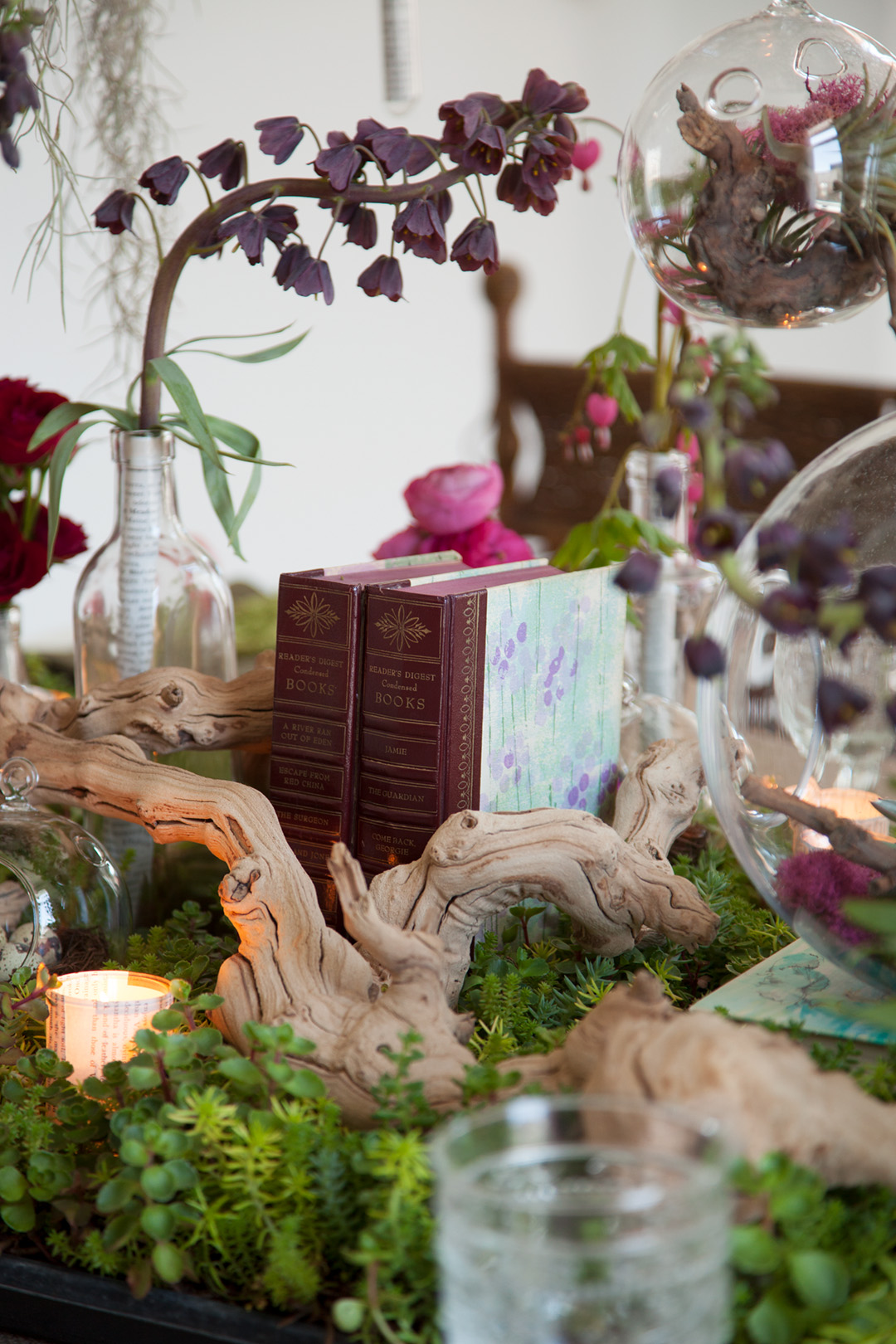 Enchanted forest inspired baby shower celebrate the art for Fairytale inspired home decor