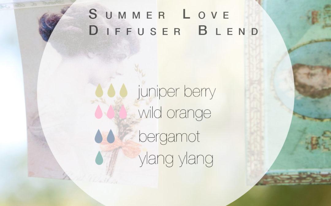 Summer Love Diffuser Blend