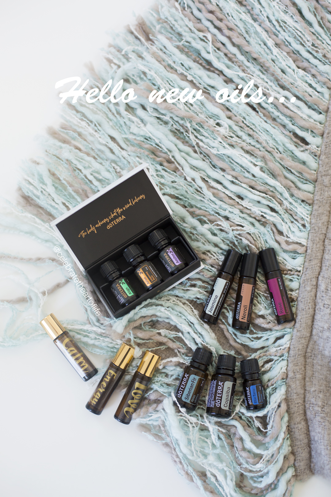 doTERRA new oils 2017