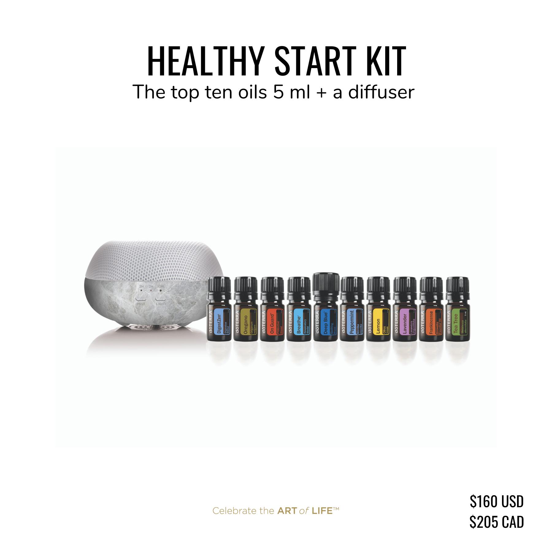 dōTERRA Healthy Start Kit