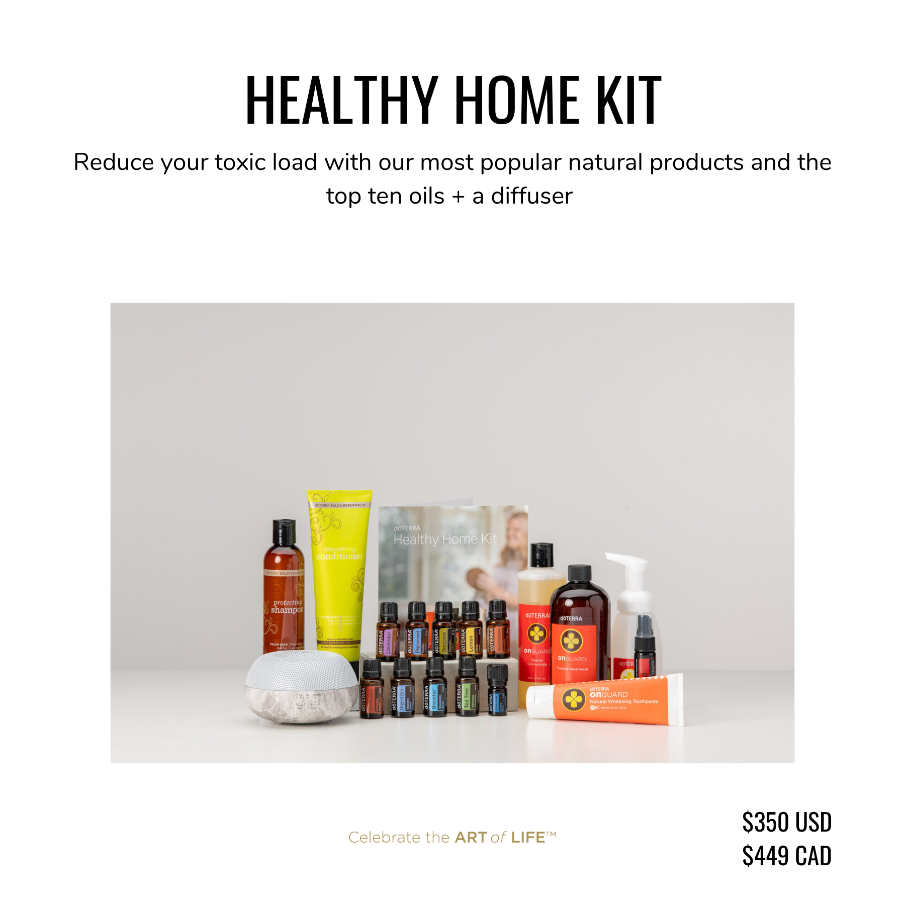 dōTERRA Healthy Home Kit