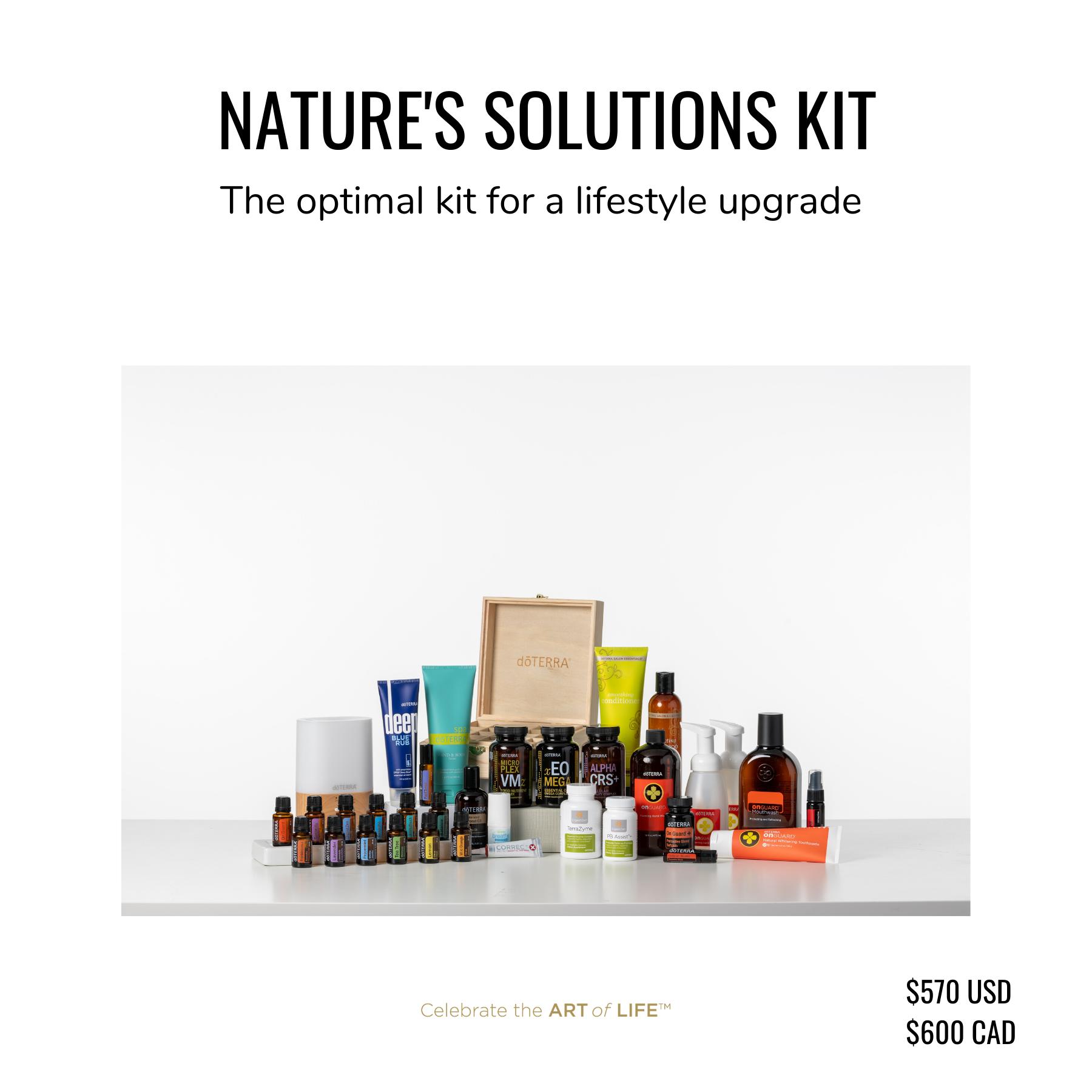 dōTERRA Nature's Solutions Kit