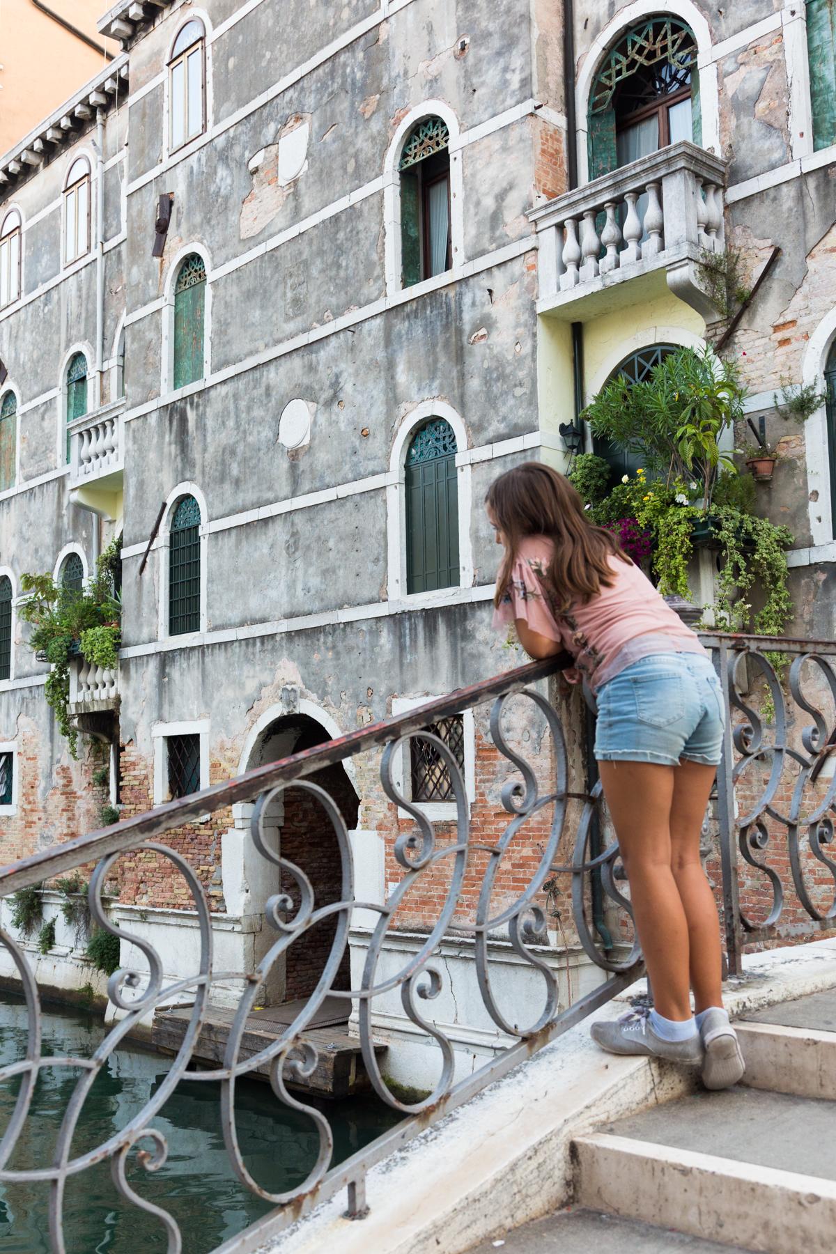 Portrait in Venice