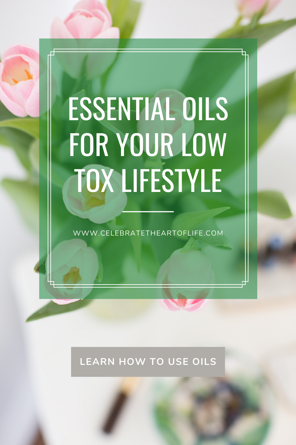 Essential Oils for your Low Tox Lifestyle